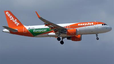 G-EZPC - Airbus A320-214 - easyJet