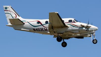 N403EM - Beechcraft C90 King Air - Private