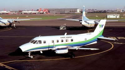VH-MWW - Embraer EMB-110P2 Bandeirante - Eastcoast Airlines