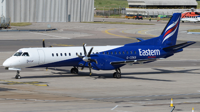 A picture of GCDKB - Saab 2000 - Eastern Airways - © David Oates