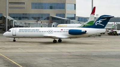 4O-AOM - Fokker 100 - Montenegro Airlines