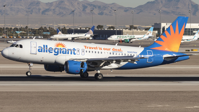 A picture of N307NV - Airbus A319112 - Allegiant Air - © David Lee