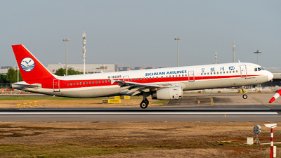 A picture of B6590 - Airbus A321231 - Sichuan Airlines - © Deutsch lighting II