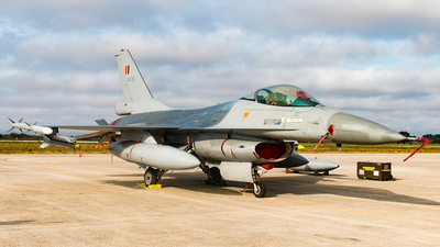 FA-135 - General Dynamics F-16AM Fighting Falcon - Belgium - Air Force