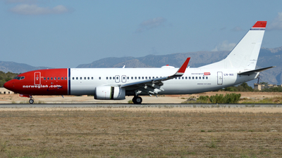 LN-NII - Boeing 737-8JP - Norwegian