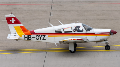 HB-OYZ - Piper PA-28R-180 Cherokee Arrow - Private