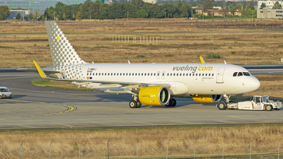 A picture of FWWDJ - Airbus A320 - Airbus - © Leandro Hdez
