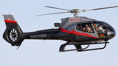N863MH - Eurocopter EC 130B4 - Maverick Helicopters