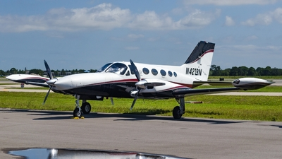 A picture of N421BN - Cessna 421B - [421B0586] - © Maxime CERTAIN-MESSAGER