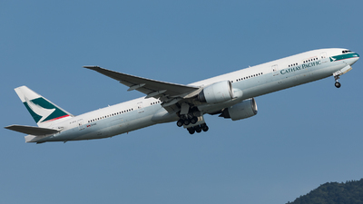 B-KPS - Boeing 777-367ER - Cathay Pacific Airways