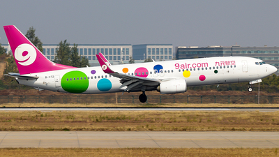 A picture of B1172 - Boeing 73786X - 9 Air - © Jinshui Road