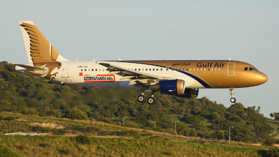A9C-AH - Airbus A320-214 - Gulf Air