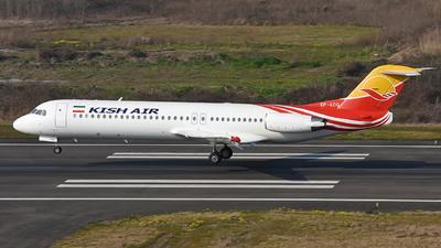 EP-LCQ - Fokker 100 - Kish Air
