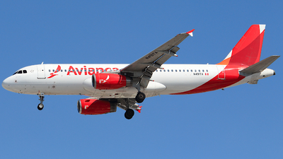 N491TA - Airbus A320-233 - Avianca