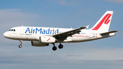 EC-JQT - Airbus A319-132 - Air Madrid