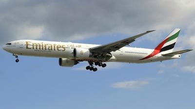 A picture of A6EBH - Boeing 77731H(ER) - [32707] - © Godwin Diega Gabuat