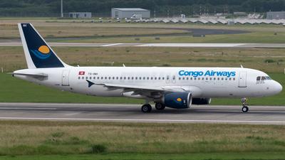 TS-INH - Airbus A320-214 - Congo Airways (Nouvelair)