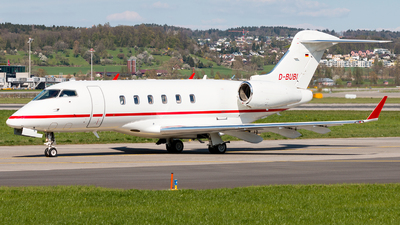 D-BUBI - Bombardier BD-100-1A10 Challenger 300 - Windrose Air