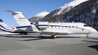 N926SS - Bombardier CL-600-2B16 Challenger 604 - Private