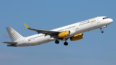 EC-MPV - Airbus A321-231 - Vueling