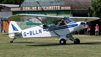 G-BLLN - Piper L-18C Super Cub - Private