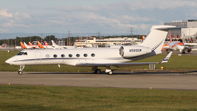 N585DW - Gulfstream G-V(SP) - Private