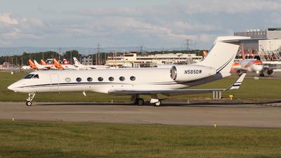 N585DW - Gulfstream G-V(SP) - Private
