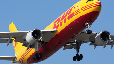 A picture of DAEAP - Airbus A300B4622R(F) - DHL - © Andrea Spoladore