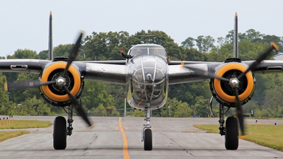 N2825B - North American RB-25 Mitchell - Private