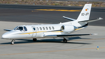 EC-JFT - Cessna 560 Citation Ultra - Sky Helicopteros