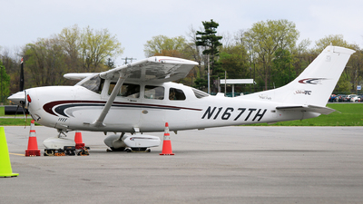 A picture of N167TH - Cessna T206H Turbo Stationair - [T20608186] - © Hongming Zheng