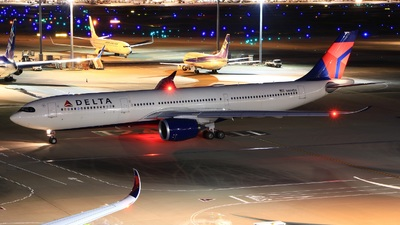 A picture of N404DX - Airbus A330941 - Delta Air Lines - © Keitaro -Danadinho AviãoSpotter-