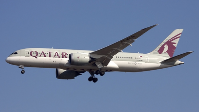 A picture of A7BCM - Boeing 7878 Dreamliner - Qatar Airways - © if