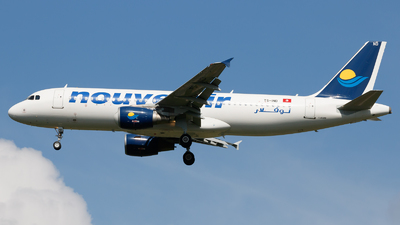 TS-IND - Airbus A320-211 - Nouvelair