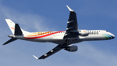 PR-EYT - Embraer 190-100LR - Colorful Guizhou Airlines