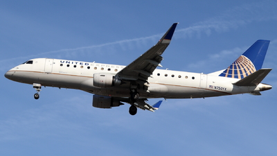 N750YX - Embraer 170-200LR - United Express (Republic Airlines)