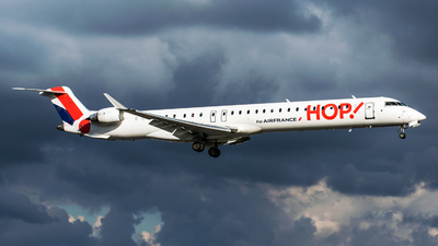 F-HMLJ - Bombardier CRJ-1000 - HOP! for Air France