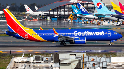 A picture of N8720L - Boeing 737 MAX 8 - Southwest Airlines - © Alex Crail