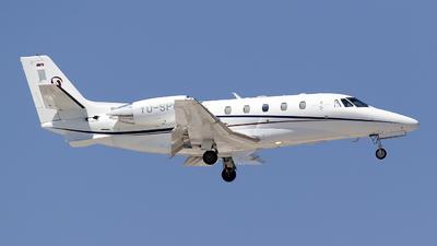 YU-SPC - Cessna 560XL Citation XLS+ - Prince Aviation