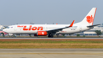 HS-LUW - Boeing 737-8GP - Thai Lion Air