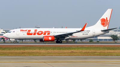 A picture of HSLUW - Boeing 7378GP - Thai Lion Air - © Yoshio Yamagishi