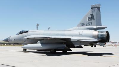 19-257 - Chengdu JF-17 Thunder - Pakistan - Air Force