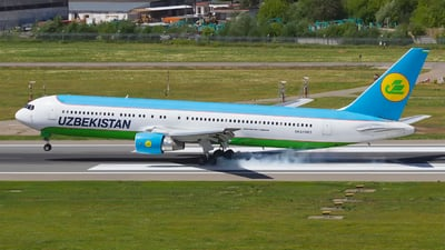 UK67003 - Boeing 767-33P(ER) - Uzbekistan Airways