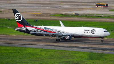A picture of B20AV - Boeing 767304(ER)(BCF) - SF Airlines - © libohang