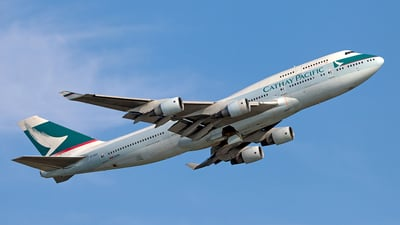 B-HKE - Boeing 747-412 - Cathay Pacific Airways