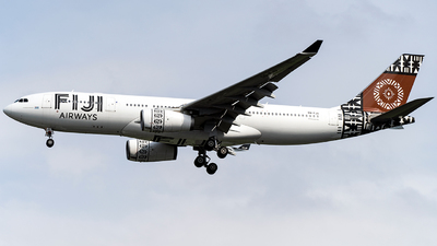 DQ-FJU - Airbus A330-243 - Fiji Airways