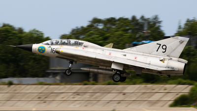 SE-DXP - Saab Sk35C Draken - Swedish Airforce Historic Flight