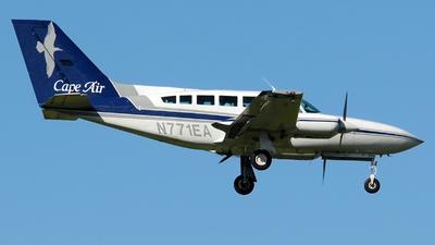 A picture of N771EA - Cessna 402C - Cape Air - © Carlos Barcelo