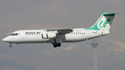 EP-MOC - British Aerospace BAe 146-300 - Mahan Air