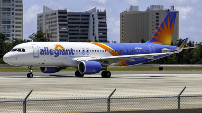 N256NV - Airbus A320-214 - Allegiant Air